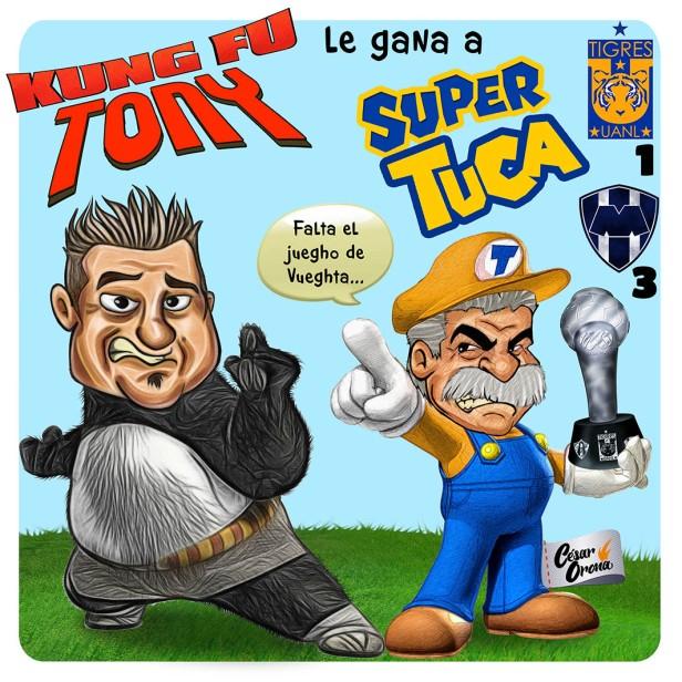 Cesar Orona Kung Fu Tony vs Tuca bros