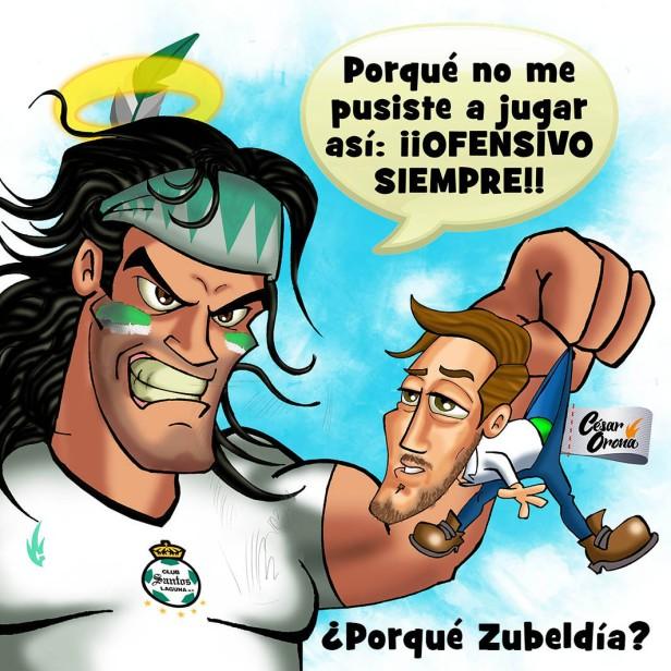 Cesar Orona Zubeldia Ofensivo