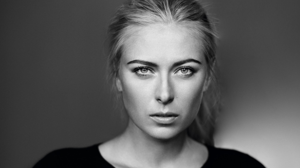 maria_sharapova_tennis_girl_athlete_bw_100809_1920x1080